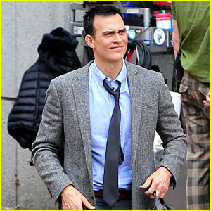 Cheyenne Jackson Confirmed for 'AHS' Season 7, Spotted Filming on Set! (Photos)