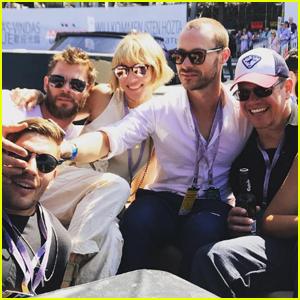 Chris Hemsworth & Matt Damon Jet to Monaco For Joint Family Vacation