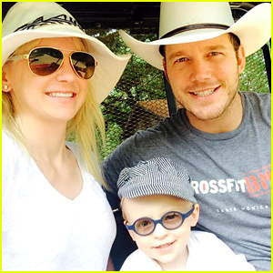 Chris Pratt & Anna Faris' Son Jack - See Cute Family Photos!