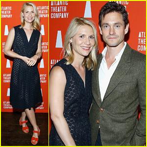Claire Danes & Hubby Hugh Dancy Help Welcome The UK's Derren Brown To New York!