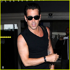 Colin Farrell's Arm Tattoos Are Nearly Fully Removed