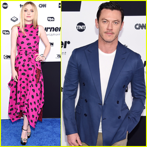 Dakota Fanning & Luke Evans Bring Their Show 'The Alienist' to Turner Upfronts