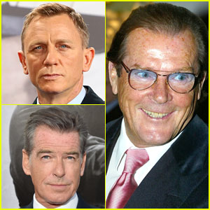 Daniel Craig & Pierce Brosnan React to Roger Moore's Death