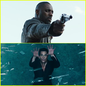 'The Dark Tower' Trailer Debuts - First Look at Matthew McConaughey & Idris Elba!