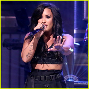 Demi Lovato Performs 'No Promises' with Cheat Codes on 'Fallon' - Watch Now!
