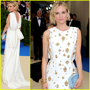 Diane Kruger Is Prada Pretty at Met Gala 2017