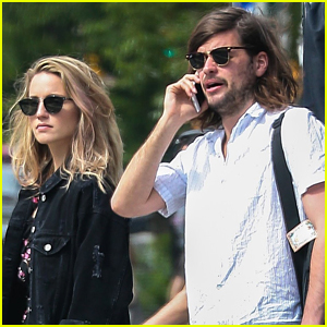 Dianna Agron & Hubby Winston Marshall Hang Out in NYC