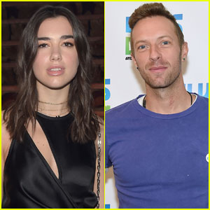 Dua Lipa Says Working With Chris Martin Was 'Really Scary'