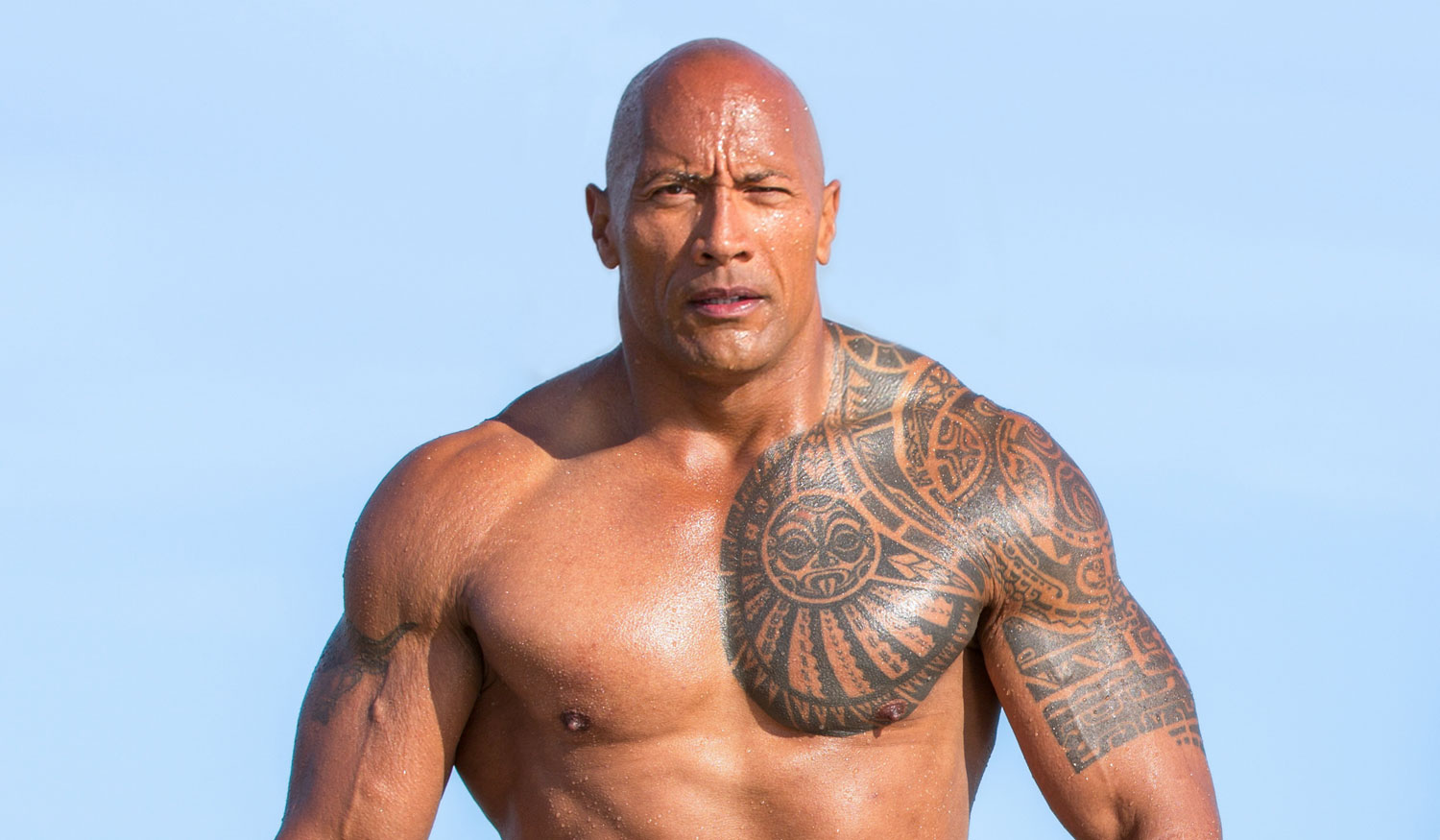 Images Of Dwayne The Rock Johnson: Dwayne Johnson Jokes About 'Baywatch' Movie's Bad Reviews