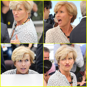 Emma Thompson is Living Her Best Life at Cannes 2017