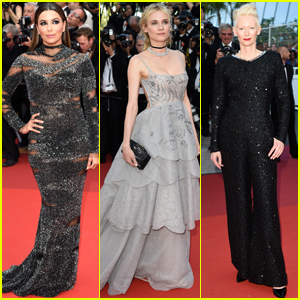 Eva Longoria & Diane Kruger Shine in Sequins at the Cannes Film Fest 2017