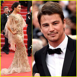 Eva Longoria & Josh Hartnett Dress Up for Cannes Red Carpet!