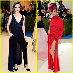Met Gala 2017: Evan Rachel Wood & Thandie Newton Are Far From 'Westworld'