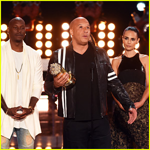 Vin Diesel & 'Fast & Furious' Cast Remember Paul Walker at MTV Movie & TV Awards - Watch Now