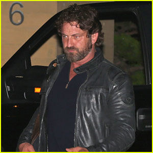 Gerard Butler Dines at Nobu Malibu on Memorial Day