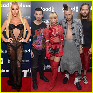 Gigi Gorgeous Flaunts Her Assets at GLAAD Media Awards 2017!