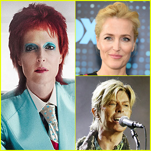 Gillian Anderson as David Bowie on 'American Gods' - First Look Photo!