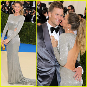 Gisele Bundchen & Tom Brady Kick Off Met Gala 2017 with a Cute Moment!