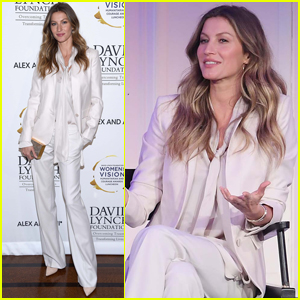 Gisele Bundchen Gets Honored at Women of Vision Awards!