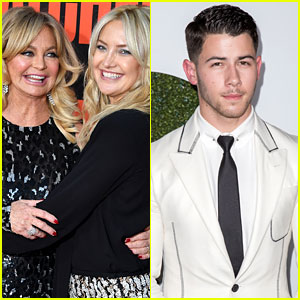 Goldie Hawn Confirms Daughter Kate Hudson Dated Nick Jonas (Video)