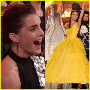 Emma Watson Has Amazing Reaction to Hailee Steinfeld Playing Belle at MTV Movie & TV Awards 2017!