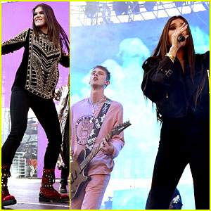 Hailee Steinfeld & Machine Gun Kelly Are At Their Best For Wango Tango!