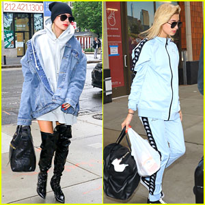 Hailey Baldwin Shows Off Diffrent Street Styles