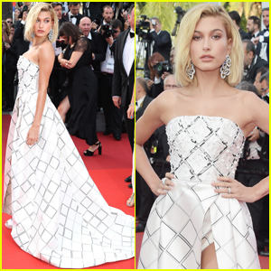 Hailey Baldwin Stuns at 'The Beguiled' Premiere at Cannes