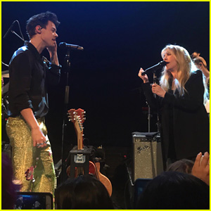 Harry Styles & Stevie Nicks Team Up For Epic 'Landslide' Duet - Video
