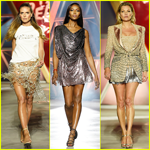 Heidi Klum, Naomi Campbell & Kate Moss Hit Runway At Fashion For Relief Event!