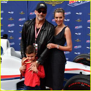 Hilarie Burton & Jeffrey Dean Morgan Make Rare Appearance With Their Son Augustus!
