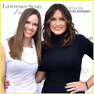 Hilary Swank & Mariska Hargitay Kick Off Memorial Day Weekend in the Hamptons!