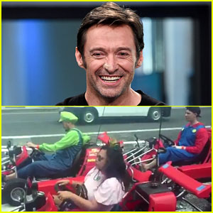 Hugh Jackman Found a Real-Life 'Mario Kart' Race & It Looks Awesome (Video)