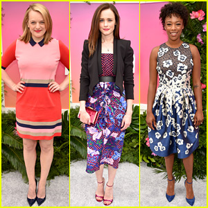 'Handmaid's Tale' Stars & Others Step Out for Hulu Upfronts!