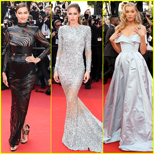 Irina Shayk, Doutzen Kroes & Elsa Hosk Stun At 'The Beguiled' Cannes Premiere!