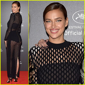 Irina Shayk Rocks Sheer Dress Two Months After Giving Birth