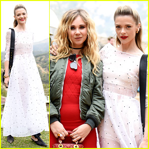 Jaime King & Juno Temple Cap Off Dior's Desert Takeover at Brunch
