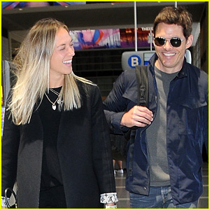 James Marsden & Girlfriend Edei Look Like Such a Happy Couple