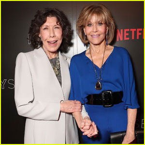 Lily Tomlin & Jane Fonda Attend 'Grace And Frankie' FYC Event