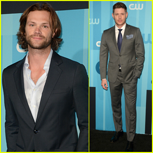 Jared Padalecki & Jensen Ackles Attend CW Upfronts Ahead of Tonight's 'Supernatural' Finale