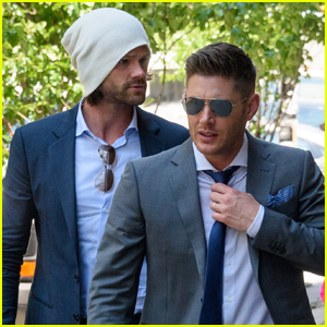 Jared Padalecki & Jensen Ackles Hang in NYC After CW Upfronts