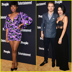 Jennifer Hudson Celebrates Joining 'The Voice' At EW & People's Upfronts Party