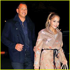 Jennifer Lopez & Alex Rodriguez Look So Hot on Date Night!