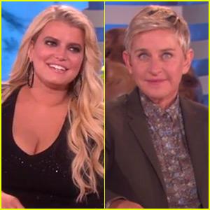 Jessica Simpson Is Bad with Numbers, Exhuasts Ellen DeGeneres During Funny Interview (Video)