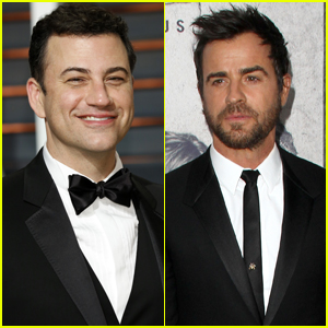 Jimmy Kimmel & Justin Theroux Team Up For Throwback Sitcom Special