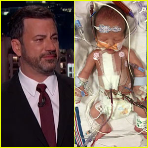 Jimmy Kimmel Tearfully Reveals Son's Birth & Open Heart Surgery (Video)