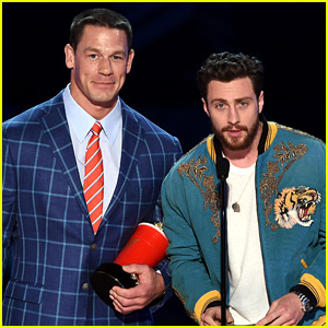 The Wall's John Cena & Aaron Taylor-Johnson Buddy Up at MTV Awards!