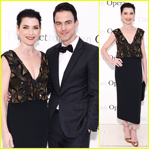 Julianna Margulies & Husband Keith Lieberthal Have Date Night At Metropolitan Opera 50th Anniversary!