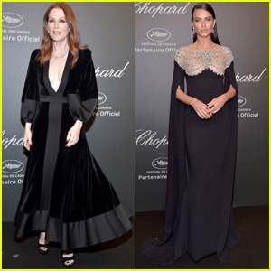 Julianne Moore & Adriana Lima Look Stunning at 'Chopard' Space Party