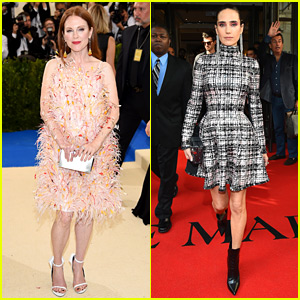 Julianne Moore & Jennifer Connelly Show Off Their Met Gala 2017 Style!
